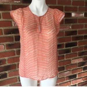 Broadway & Broome 100% silk blouse Sz S